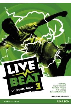 Live Beat 3 SB PEARSON podręcznik wieloletni