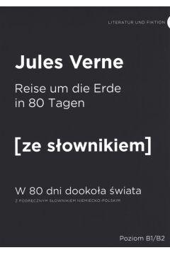 W 80 dni dookoła świata w.niemiecka + słownik