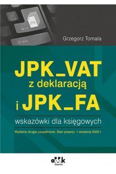 JPK_VAT z deklaracją i JPK_FA