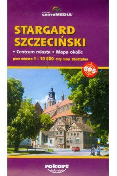 Stargard Szczeciński plan miasta 1:10 800