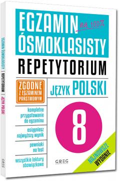 Egzamin ósmoklasisty. Język polski. Repetytorium
