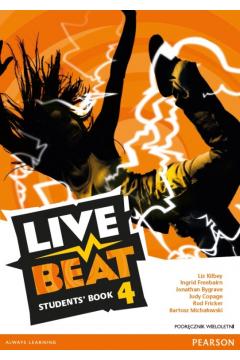 Live Beat 4 SB podręcznik wieloletni + CD PEARSON