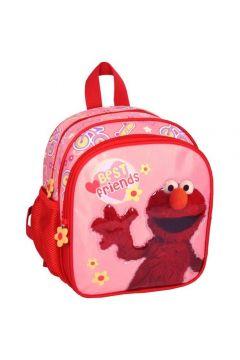 Plecaczek Ulica Sezamkowa Elmo różowy