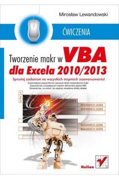 Tworzenie mark w VBA dla Excela 2010/2013 ćw