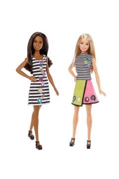 Barbie D.I.Y. Modne naklejki + lalka 2