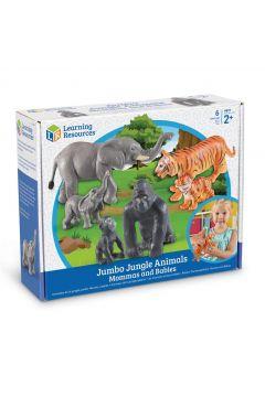 Duże Figurki. Mamy i Dzieci. Zwierzęta z Dżungli