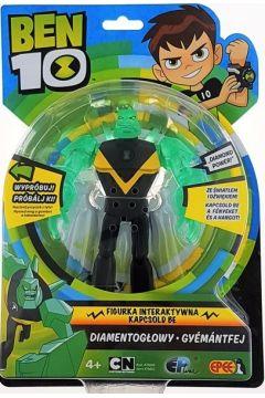 Ben 10 - figurka interaktywna Diamentogłowy