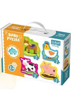 Baby Puzzle Zwierzątka na wsi