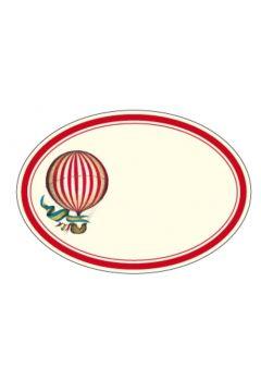 Naklejki dekoracyjne ETK 227 Balon 6szt ROSSI