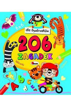 Dla bystrzaków przedszkolaków 206 zagadek
