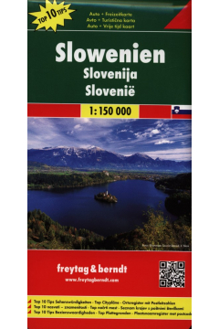 Słowenia mapa 1:150 000