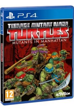 Teenage Mutant Ninja Turtles Mutants in Manhattan PS4