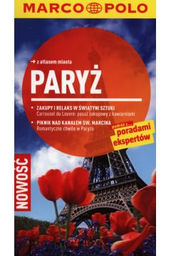 Paryż Przewodnik z atlasem