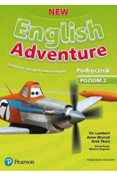New English Adventure. Poziom 2. Język angielski. Podręcznik