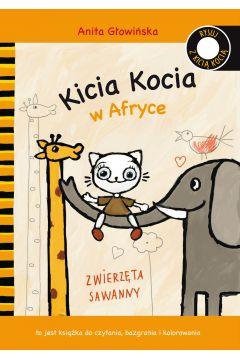 Kicia Kocia w Afryce. Zwierzęta sawanny
