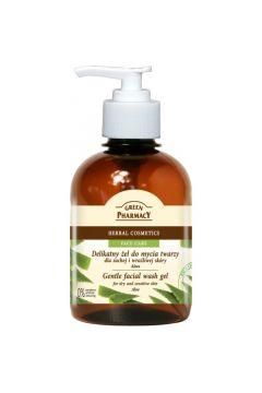Gentle Facial Wash Gel żel do mycia twarzy dla suchej i wrażliwej skóry Aloes