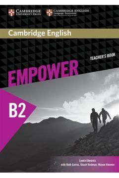 Cambridge English Empower Upper Intermediate Teacher's book