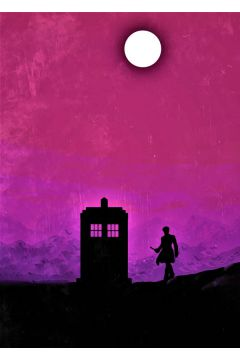 Doctor Who Vintage Poster - plakat