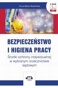 Bezpieczeństwo i higiena pracy. Środki ochrony indywidualnej w wybranym orzecznictwie sądowym (e-book)
