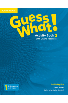 Guess What! 2 Activity Book with Online Resources
