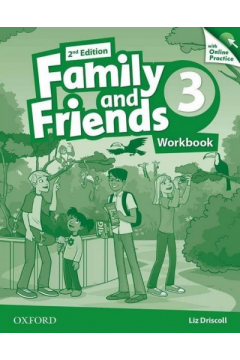 Family and Friends 3. 2nd edition. Workbook + Online Practice