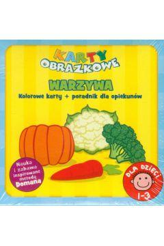 Karty obrazkowe Warzywa