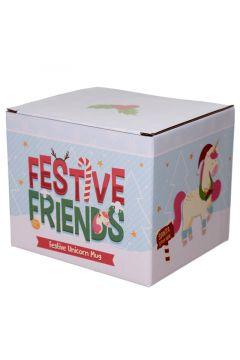 Świąteczny ceramiczny kubek 'Świąteczni Przyjaciele' - Głowa Jed