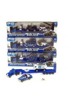 Truck+2 pojazdy policyjne w pud. JP6101 Cena za sztukę