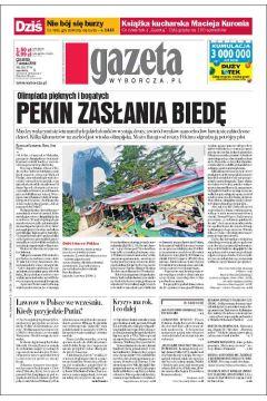 Gazeta Wyborcza - Kraków 184/2008