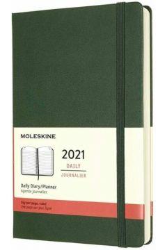 Kalendarz 2021 dzienny 12ML tw. myrtle green