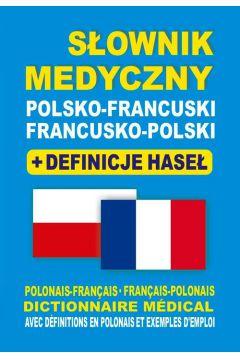Słownik medyczny pol-fr i fr-pol + definicje br