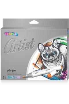 Markery do szkicowania Colorino Kids artist pastel