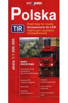 Mapa Drogowa DAUNPOL. Polska TIR br