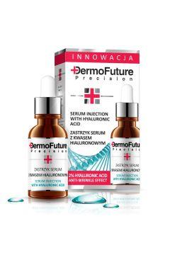 Serum Injection With Hyaluronic Acid kuracja do twarzy z kwasem hialuronowym