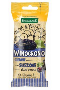 Winogrono ciemne suszone
