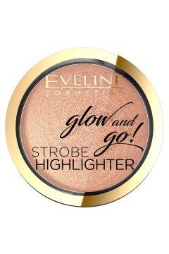 Glow And Go! Strobe Highlighter rozświetlacz do twarzy 02 Gentle Gold