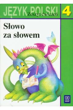 Słowo za słowem 4 Język polski Zeszyt ćwiczeń