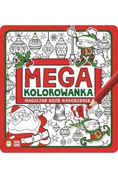 Megakolorowanka. Magiczne Boże Narodzenie
