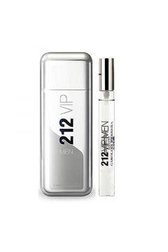 212 VIP Men Woda toaletowa spray 100ml + Woda toaletowa 10ml