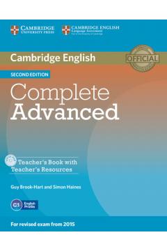 Complete Advanced Teacher's Book + CD