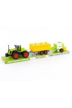 Traktor z przyczepą i napędem pod kloszem  502710