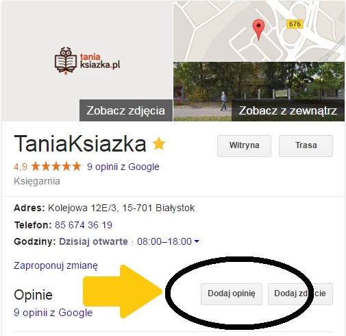 Oceń nas w Google Plus