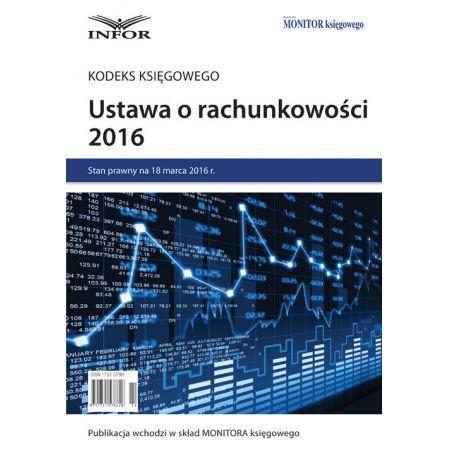 Ustawa o rachunkowosci 2016