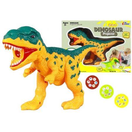 Projektor Dinozaur + pisaki 18 obrazków