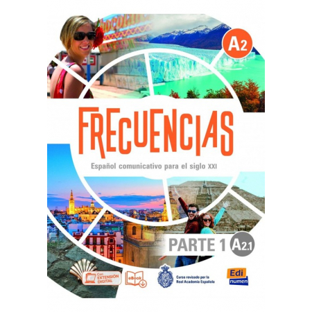 Frecuencias A2.1 Podręcznik + online Parte 1