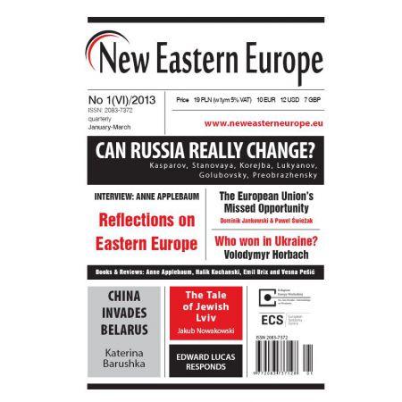 New Eastern Europe 1/2013
