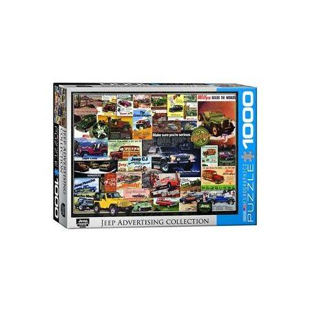Puzzle 1000 Jeep 6000-0758