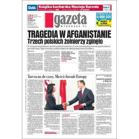 Gazeta Wyborcza - Katowice 195/2008