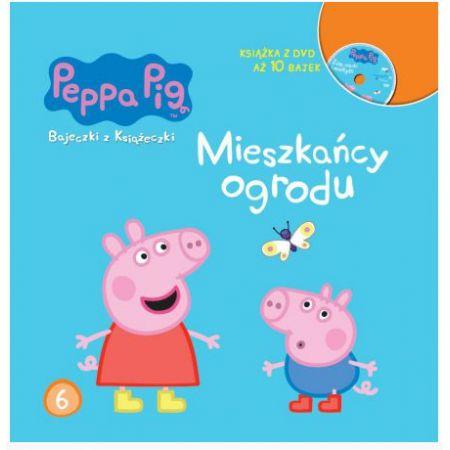 Mieszkańcy ogrodu Świnka Peppa bajeczki z książeczki Tom 6 + dvd