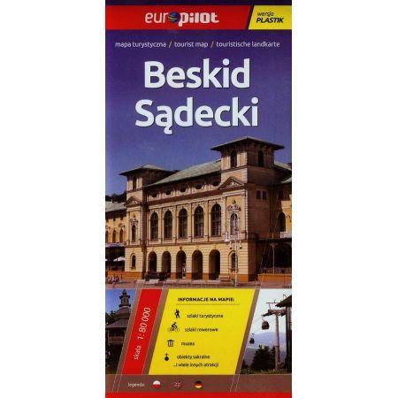 Beskid Sądecki m.tur./Europilot/1:80000/laminowana